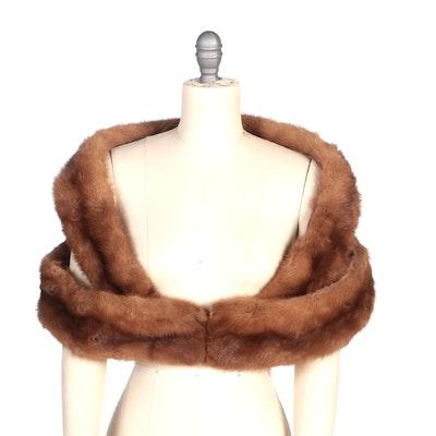 Marten Fur Collar Style Stole