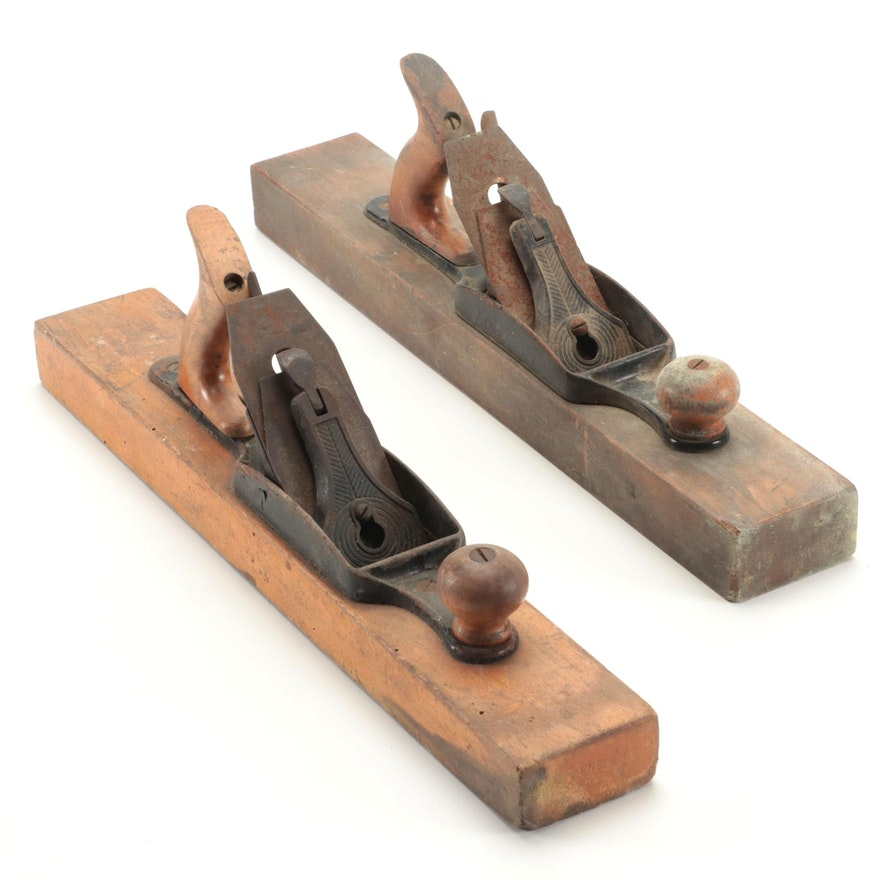 Sargent and Company Wooden Block Planers