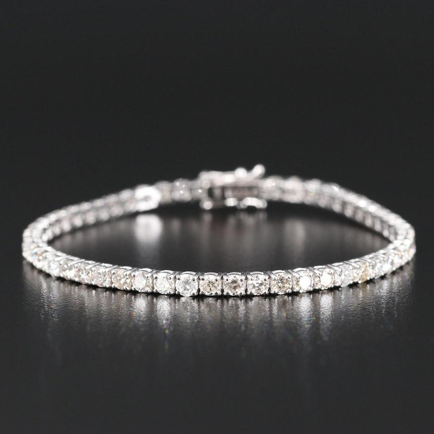 14K 6.56 CTW Diamond Bracelet