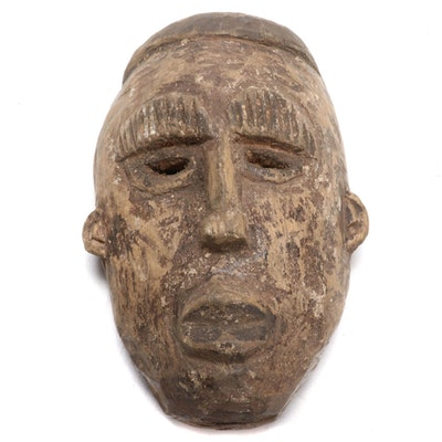 Ibibio Inspired Wood Mask, West Africa