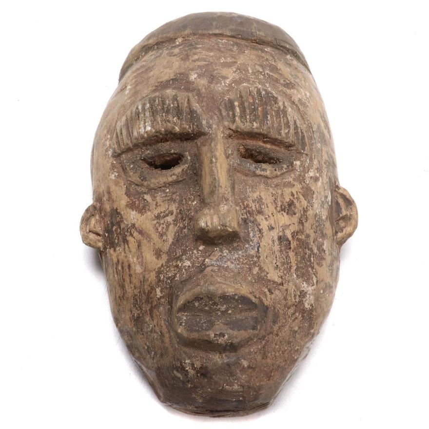 Ibibio Inspired Wood Mask, West Africa