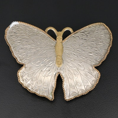 Montana Silversmiths Butterfly Belt Buckle