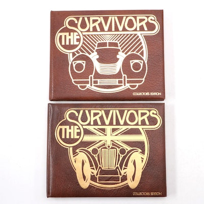 "Signed ""Postwar MG & Morgan"" and ""The Survivors"" by Henry Rasmussen"