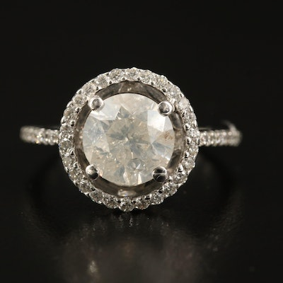 18K 3.04 CTW Diamond Ring