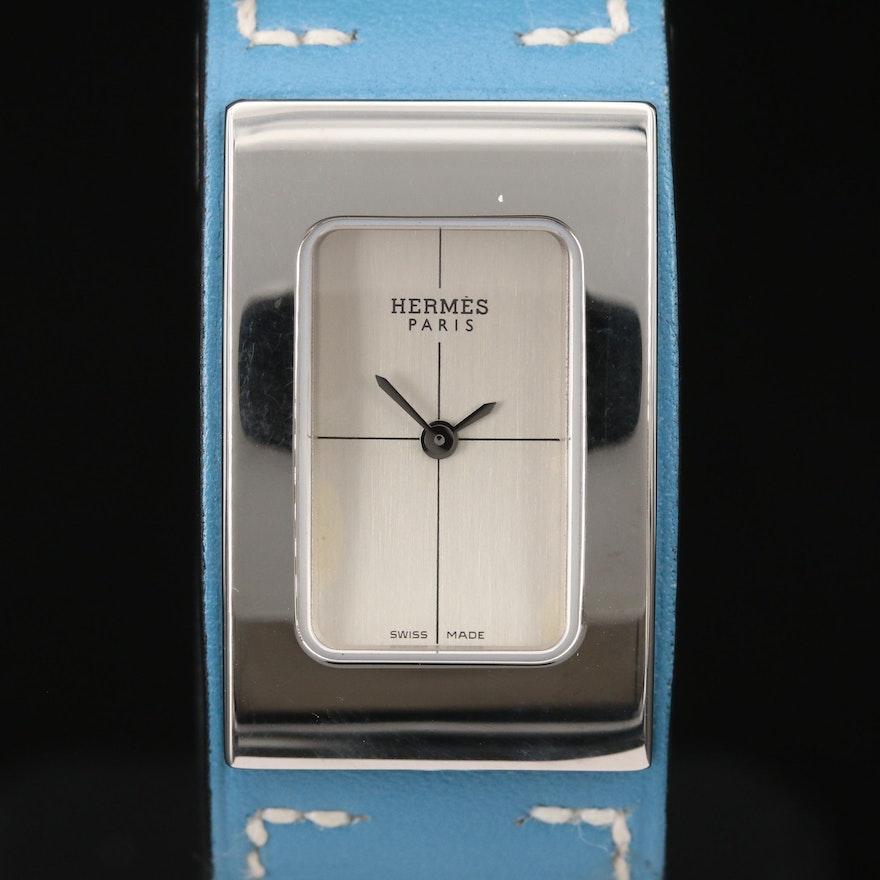 Hermès Cherche Midi Stainless Steel Quartz Wristwatch