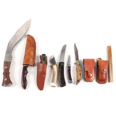Eclectic Selection of Utility, Folding and Collector Knives