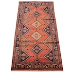 5'0 x 10'8 Hand-Knotted Persian Kurdish Kolyai Wool Rug