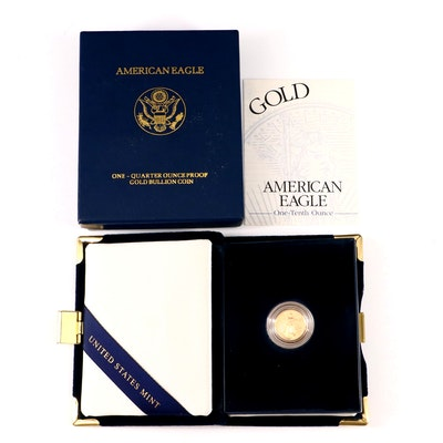 2001-W $5 One Tenth Ounce Gold Eagle Coin