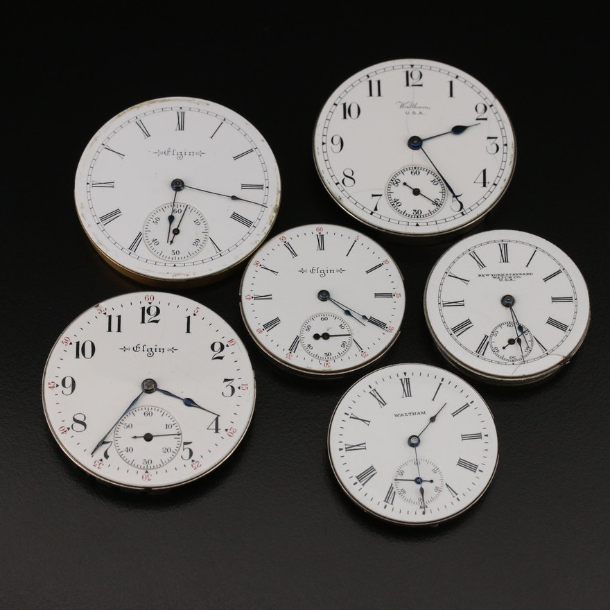 American Pocket Watch Movements