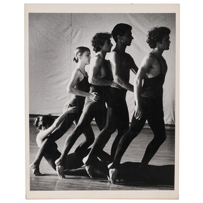 "William D. Wade Silver Gelatin Photograph ""Ohio University Dancers"", 1978"