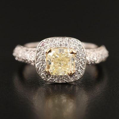 14K 2.17 CTW Diamond Ring