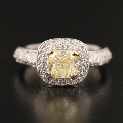 14K 2.17 CTW Diamond Ring