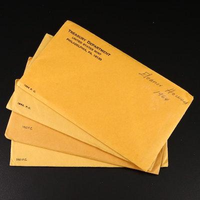 U.S. Mint Silver Proof Sets, 1961–1964