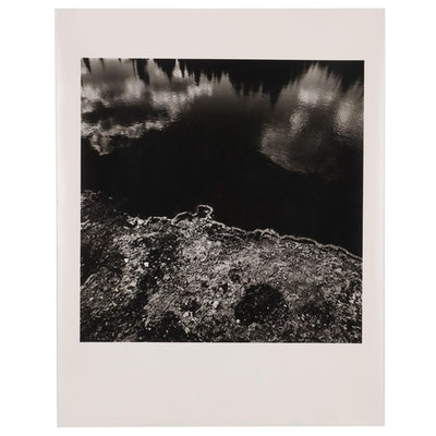 """William D. Wade Silver Gelatin Photograph """"Yellowstone National Park"""""""