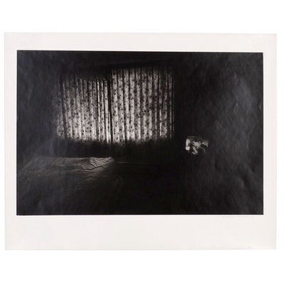 "William D. Wade Inkjet Print Photograph ""Motel Room TV"""