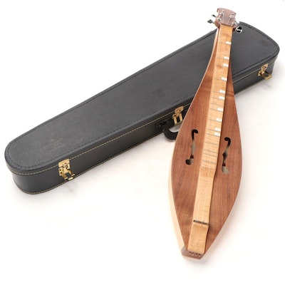 Handcrafted Mountain Lap Dulcimer with Method Book