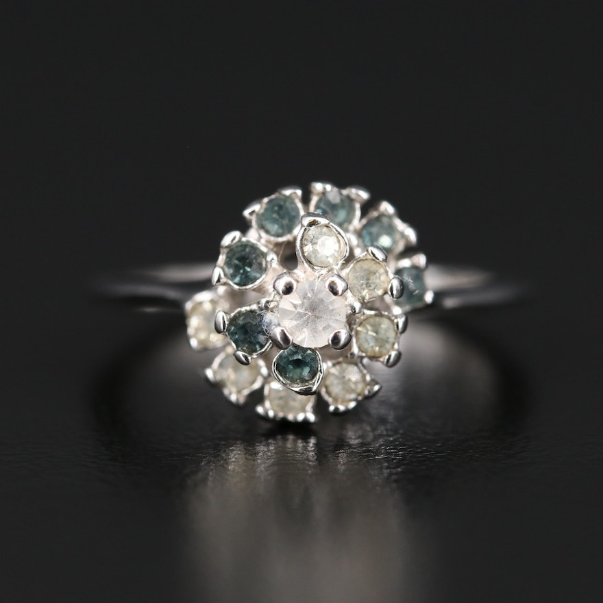 Glass Cluster Ring