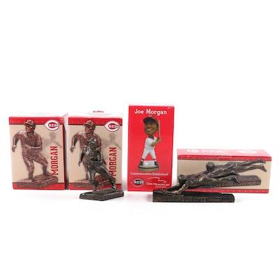 Joe Morgan and Pete Rose Cincinnati Reds Bobblehead Dolls/Statues in Boxes