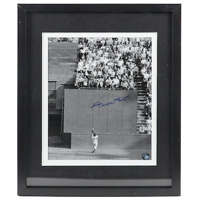 Willie Mays Signed Photo Print, COA