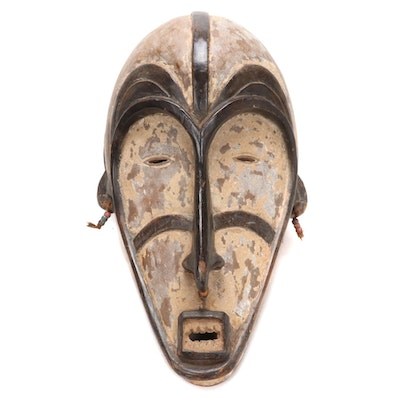 Fang Inspired Wood Mask, Central Africa