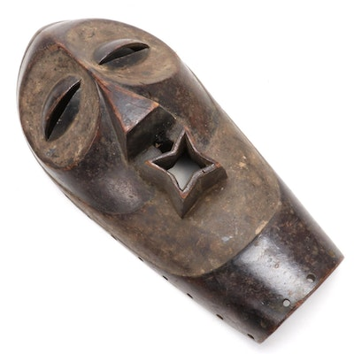 Songye Style Wood Mask, Central Africa