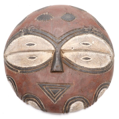 Teke Inspired Wooden Decorative Mask, Democratic Republic of the Congo