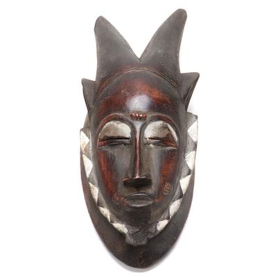 Baule Style Wooden Mask, Côte d'Ivoire