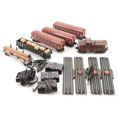 Lionel Pullman Passenger Cars with Other Cars and Accessories
