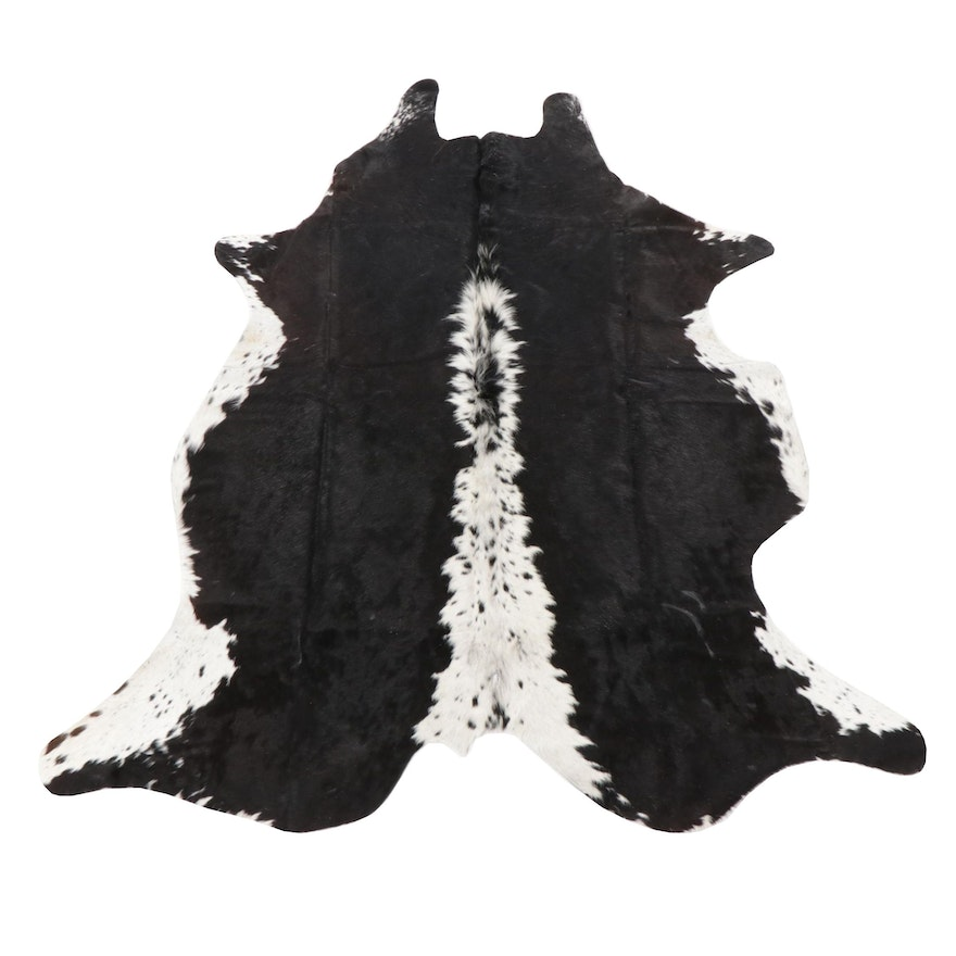 5'5 x 6'7 Natural Cowhide Area Rug