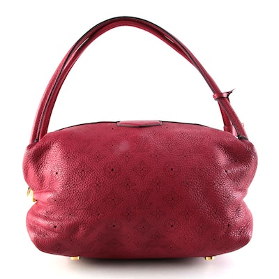 Louis Vuitton Galatea PM in Monogram Grenat Mahina Leather