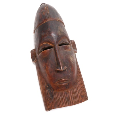West African Style Wood Mask