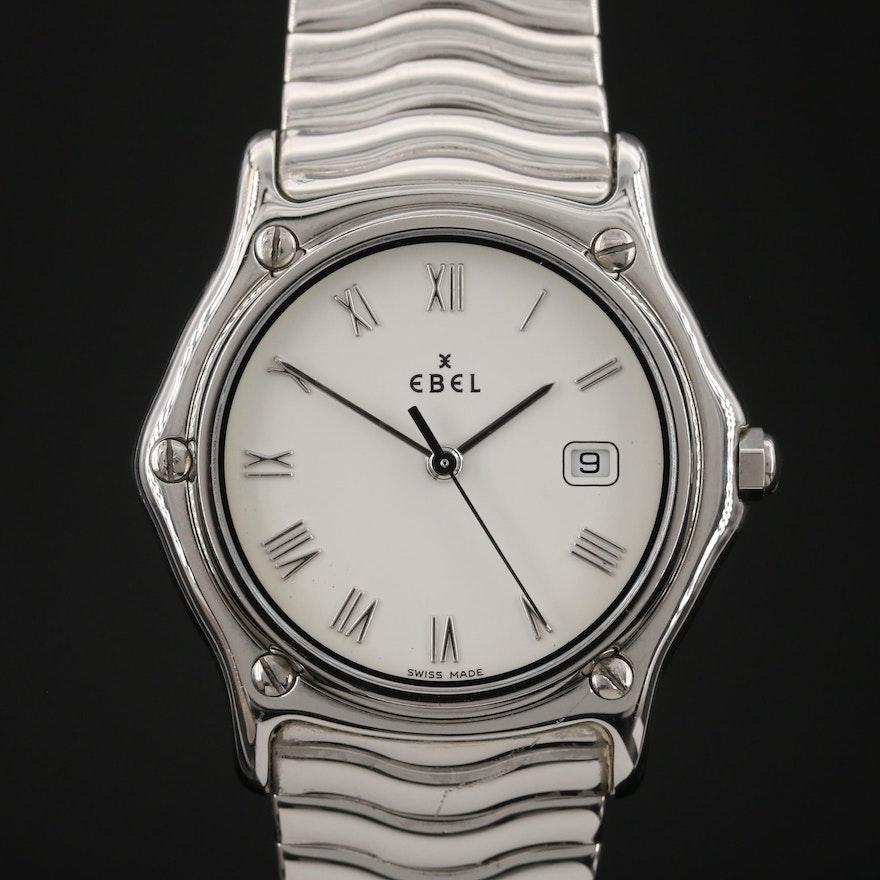 "Ebel ""Sport Classic"" Stainless Steel Quartz Wristwatch"