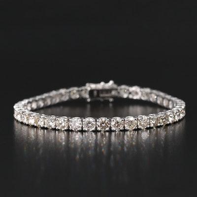 14K 12.25 CTW Diamond Line Bracelet