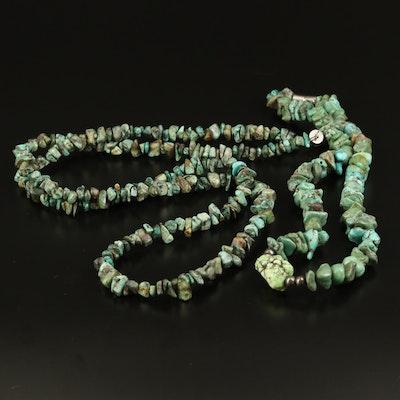Turuqoise Beaded Necklaces