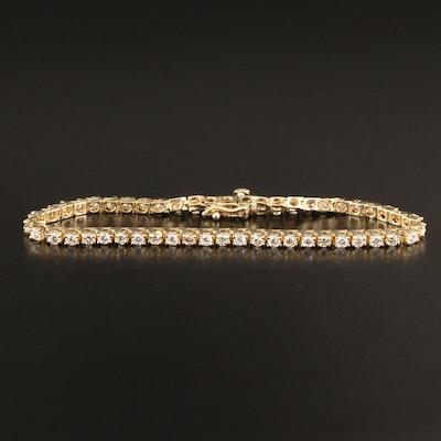 14K 4.00 CTW Diamond Link Bracelet