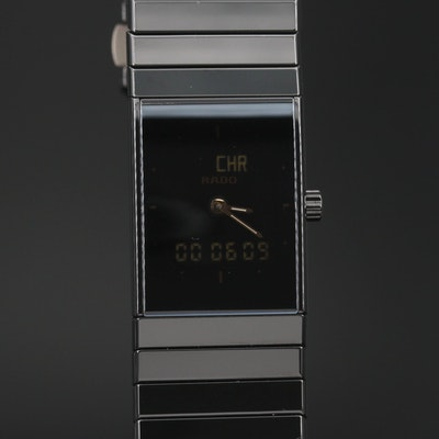 Rado Diastar Ceramica Mult-Function Quartz Wristwatch