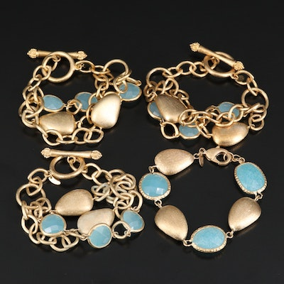 Rivka Friedman Quartz Pebble Bracelets