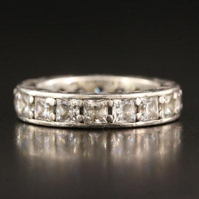 Pandora Sterling Silver Cubic Zirconia Eternity Ring