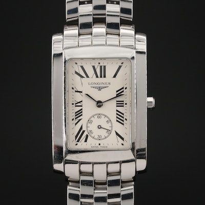 Longines Dolce Vita Stainless Steel Quartz Wristwatch
