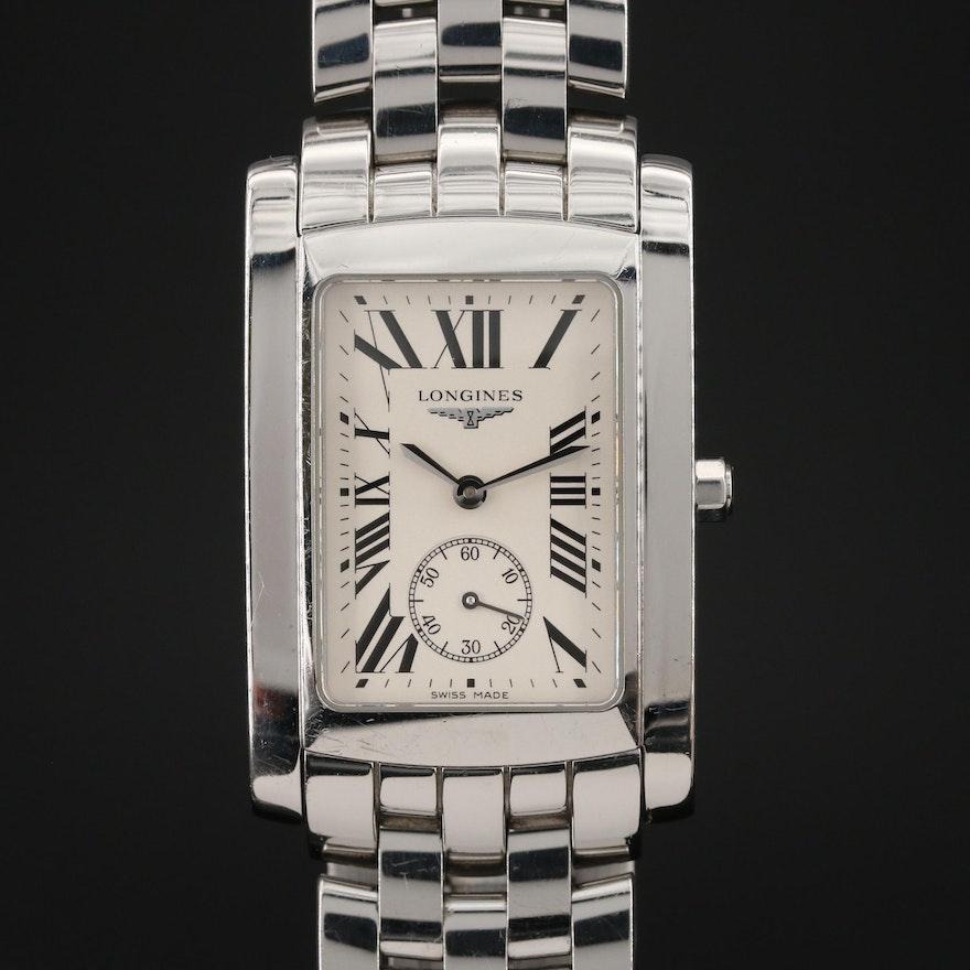 Longines Dolce Vita Stainless Steel Quartz Wristwatch