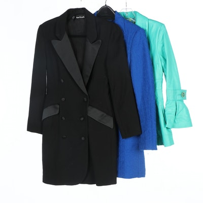Anne Klein II, Image Leather and Algo Leather and Woolen Jackets