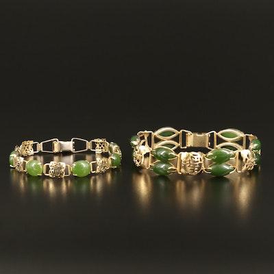 Asian Nephrite Bracelets