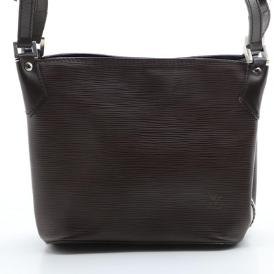 Louis Vuitton Mandara PM in Moka Epi Leather with Smooth Leather Trim