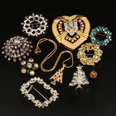 Rhinestone Jewelry with Elizabeth Taylor for Avon