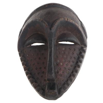 "Eastern Pende ""Kindom Bolo"" Style Carved Wood Mask, Central Africa"