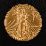 1988 $25 Gold Eagle