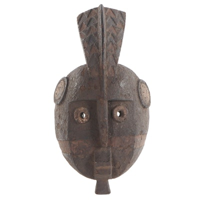 Mossi Style Carved Wood Mask, Burkina Faso
