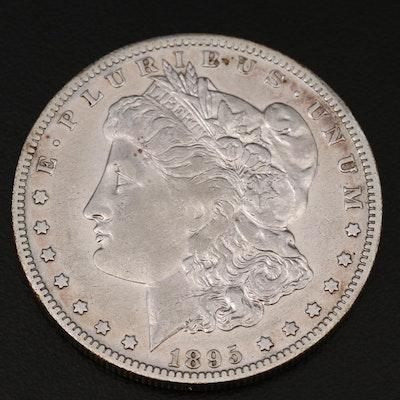 Better Date Low Mintage 1895-O Morgan Silver Dollar