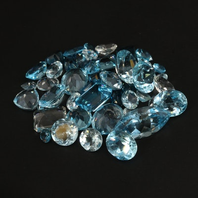 Loose 71.26 CTW Faceted Topaz Selection