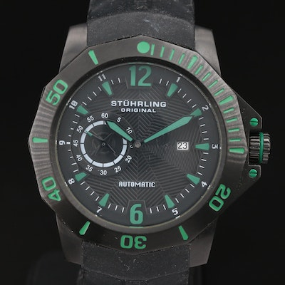 Stührling Original Stainless Steel Automatic Wristwatch